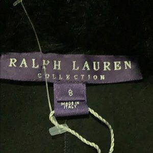 Ralph Lauren Black waist length Fur coat